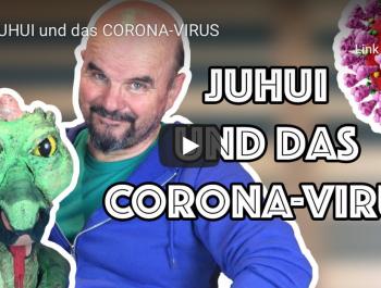 JUHUI und das Corona-Virus von Bluatschink