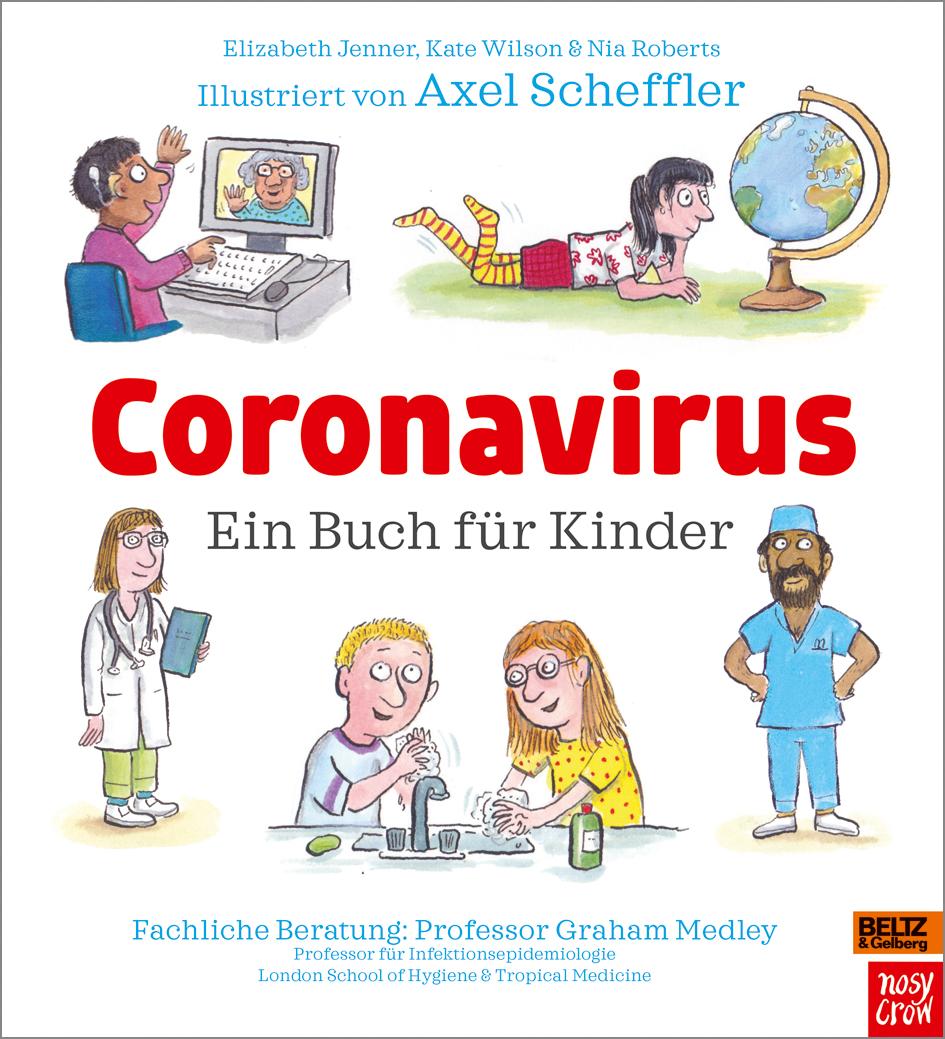 Gratis Coronabuch für Kinder mit Bildern vom Grüffelo-Schöpfer