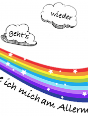 Portfolioblatt: Vorfreude auf den Kindergarten