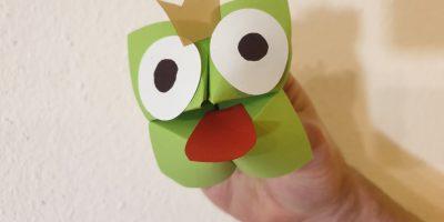 Faltarbeit: Froschkönig