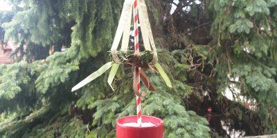 Mini-Maibaum für Zuhause