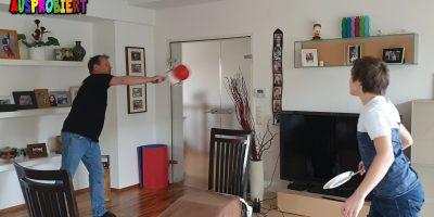 Indoor-Tennis selbst gemacht