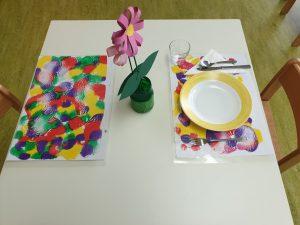 So sieht unser schön gedeckter Tisch aus! © ausprobiert.at