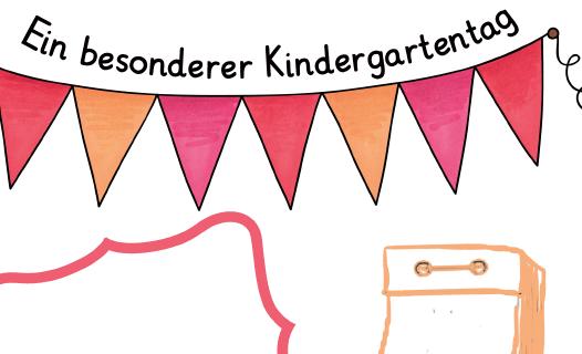 Portfolioblatt: Ein besonderer Kindergartentag