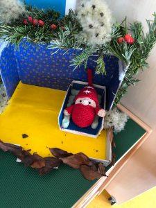 Der Wichtel ist eingezogen! Ein Mädchen hatte sofort Erbarmen, und hat ihm ein Bett gebaut! © ausprobiert.at