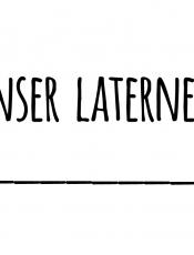 Portfolioblatt: Laternenfest 2020