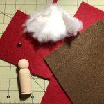 Aus diesen Materialien habe ich den kleinen Wichtel gebastelt. © ausprobiert.at