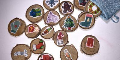 Weihnachtliche Erzählsteine